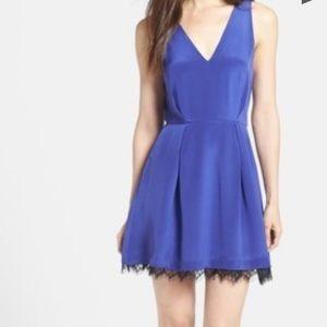 Parker lace & silk dress NWT xs